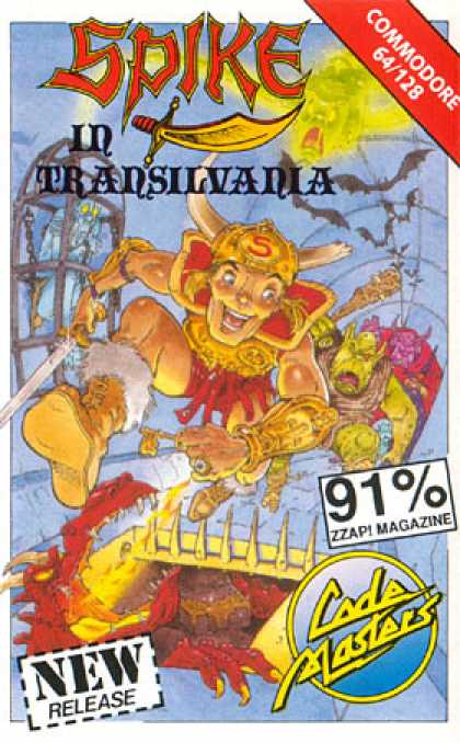 C64 Games - Spike in Transilvania