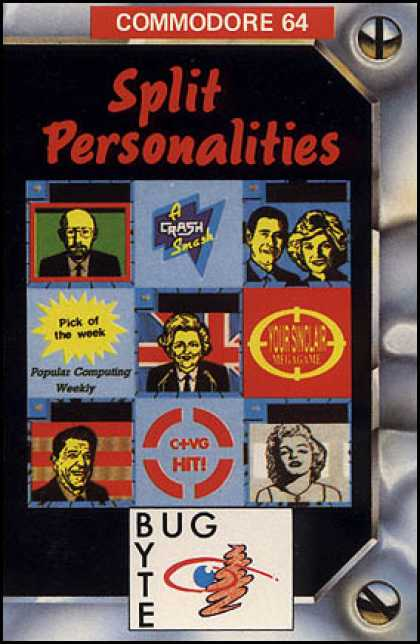 C64 Games - Split Personalities
