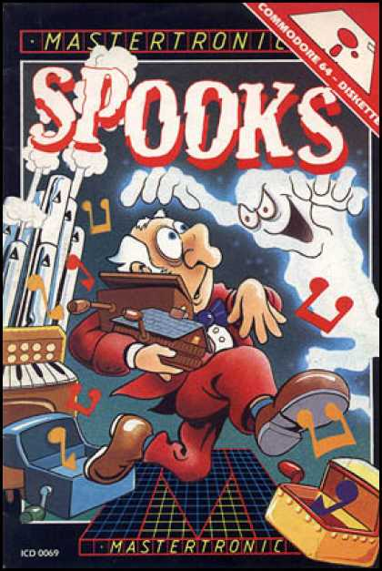 C64 Games - Spooks!