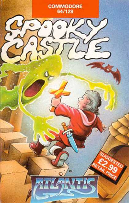 C64 Games - Spooky Castle