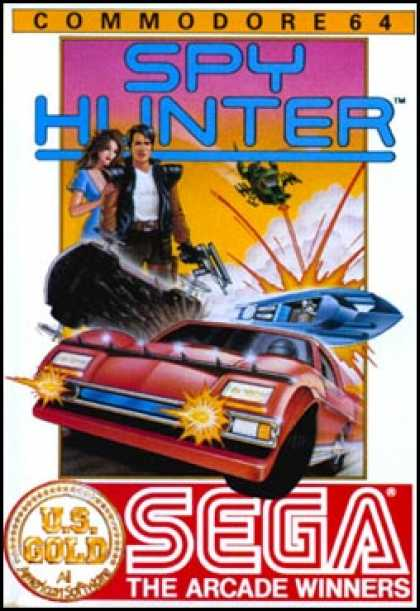 C64 Games - Spy Hunter