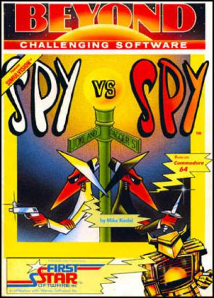 C64 Games - Spy vs Spy