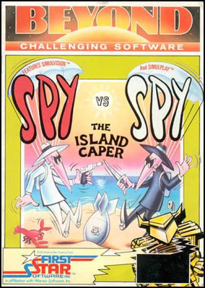 C64 Games - Spy vs Spy II: The Island Caper