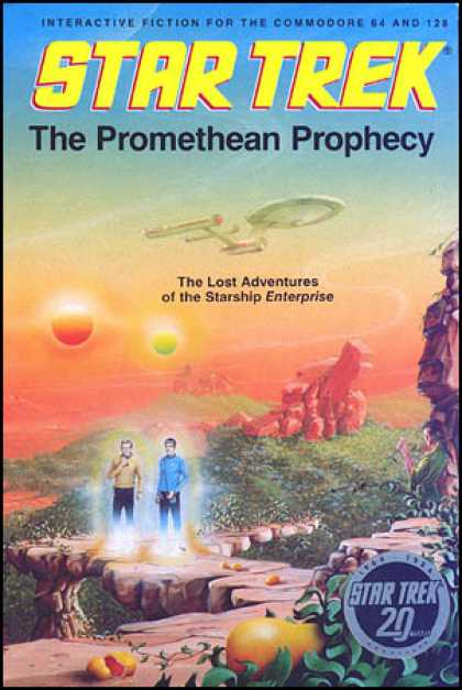 C64 Games - Star Trek: The Promethean Prophecy