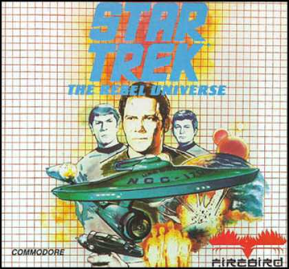 C64 Games - Star Trek: The Rebel Universe