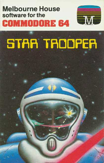 C64 Games - Star Trooper
