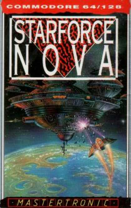 C64 Games - Starforce Nova