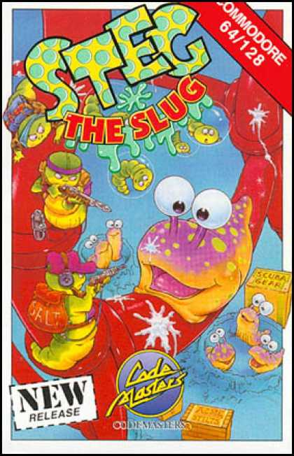C64 Games - Steg the Slug