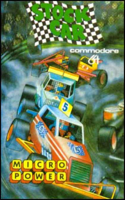 C64 Games - Stock Car