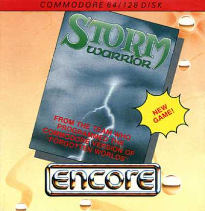 C64 Games - Storm Warrior