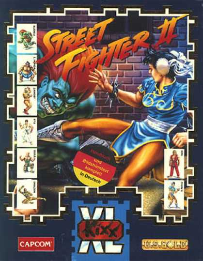 C64 Games - Street Fighter II