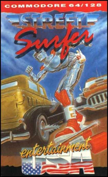 C64 Games - Street Surfer