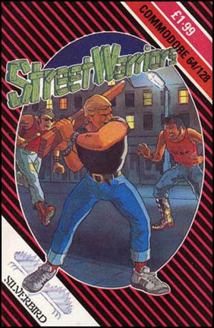 C64 Games - Street Warriors
