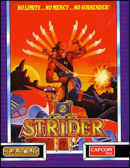 C64 Games - Strider II