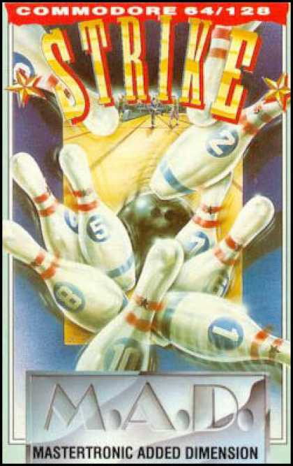 C64 Games - Strike!