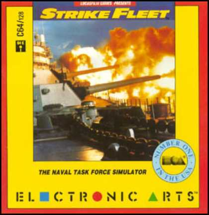 C64 Games - Strike Fleet