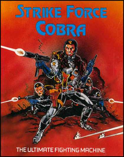 C64 Games - Strike Force Cobra