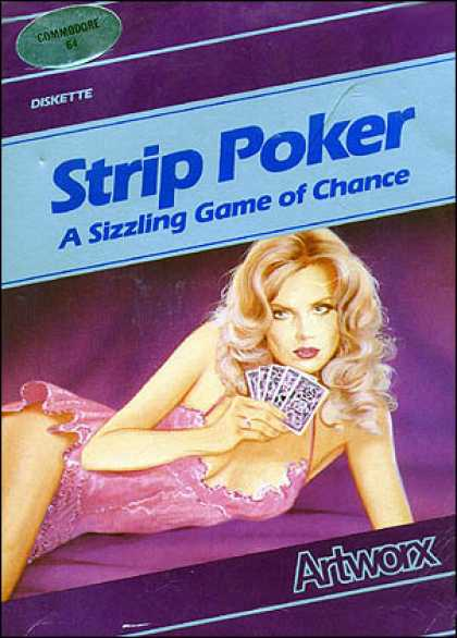 C64 Games - Strip Poker