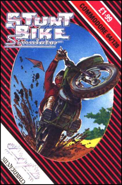 C64 Games - Stunt Bike Simulator