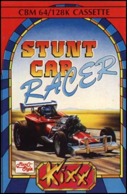 C64 Games - Stunt Car Racer