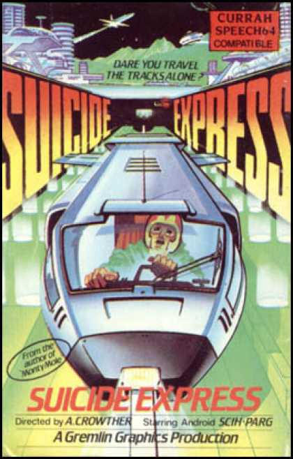 C64 Games - Suicide Express