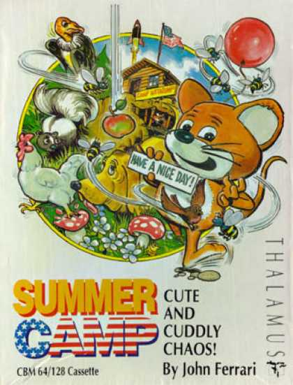 C64 Games - Summer Camp