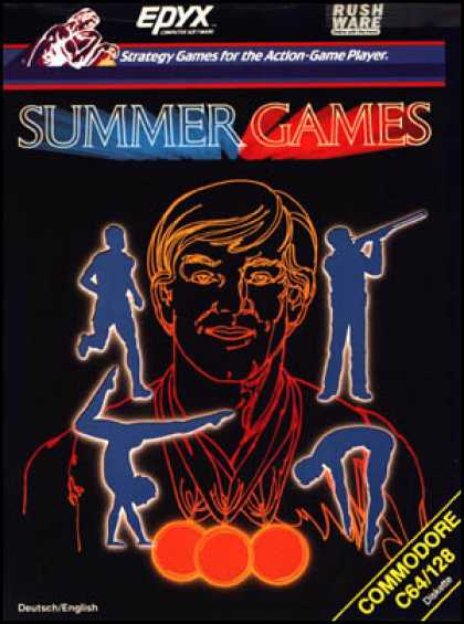 C64 Games - Summer Games