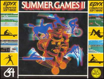 C64 Games - Summer Games II