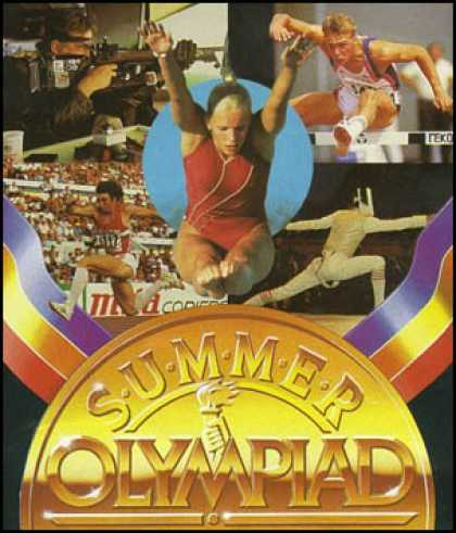 C64 Games - Summer Olympiad