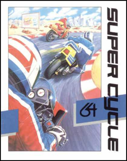 C64 Games - Super Cycle