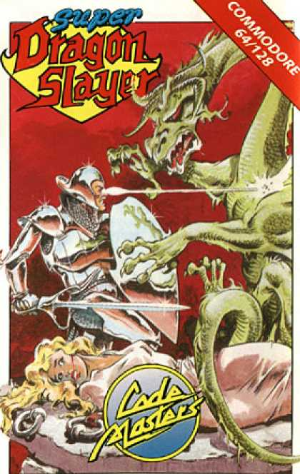 C64 Games - Super Dragon Slayer