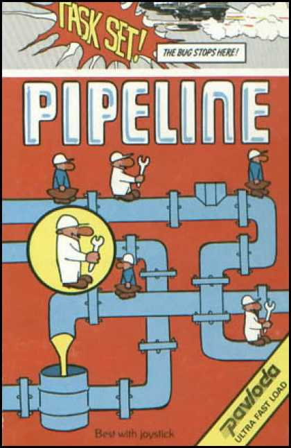C64 Games - Super Pipeline