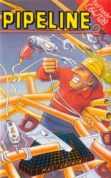 C64 Games - Super Pipeline II