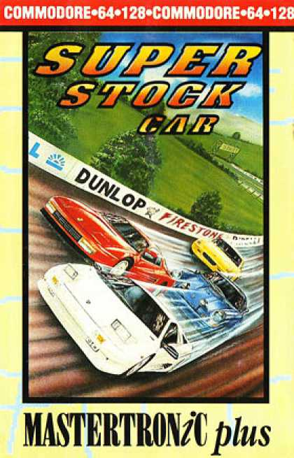 C64 Games - Super Stock Car