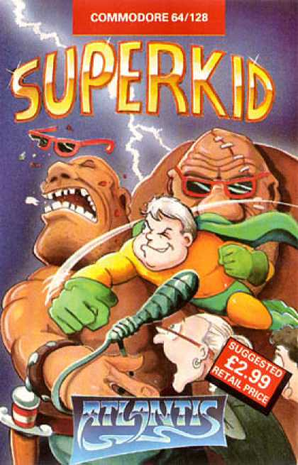 C64 Games - Superkid