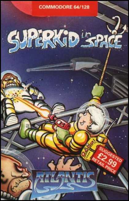 C64 Games - Superkid in Space
