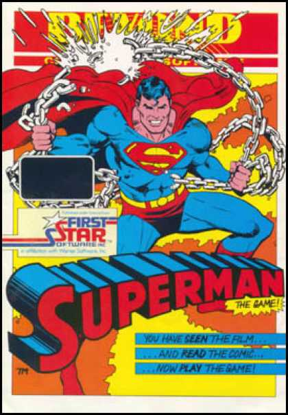 C64 Games - Superman: The Game