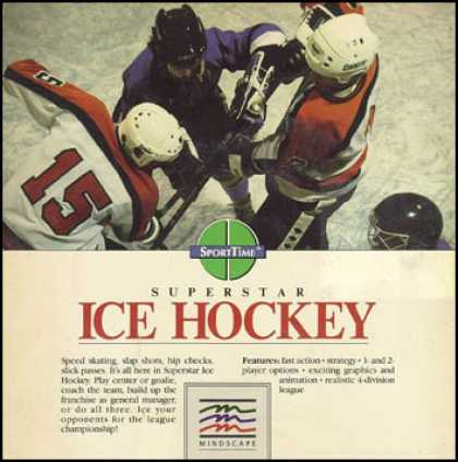 C64 Games - Superstar Ice Hockey