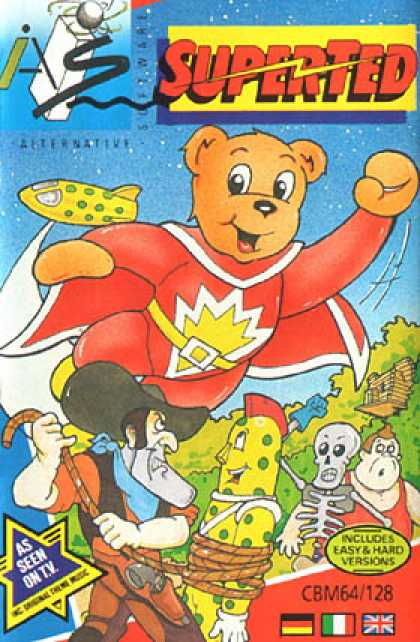 C64 Games - Superted: The Search for Spot
