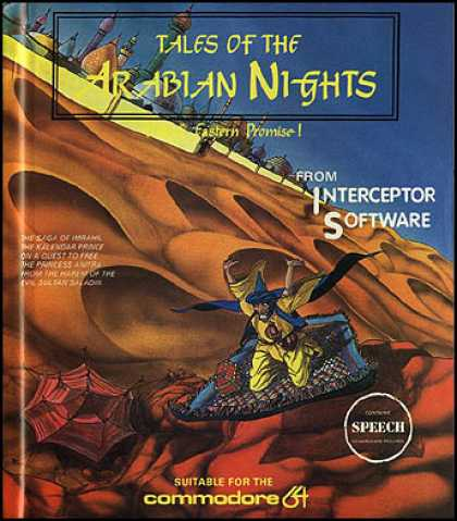 C64 Games - Tales of the Arabian Nights