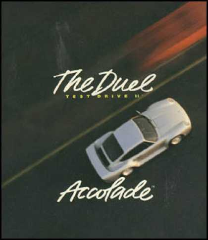 C64 Games - Test Drive II: The Duel