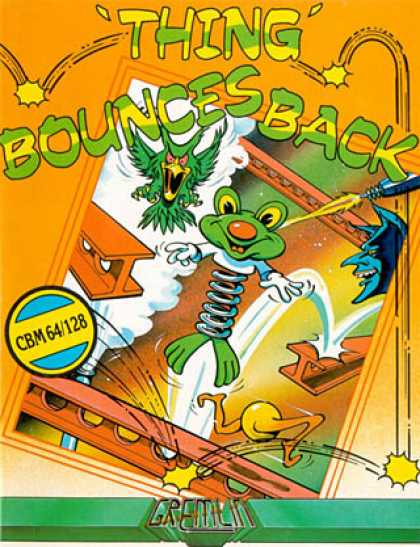 C64 Games - Thing Bounces Back