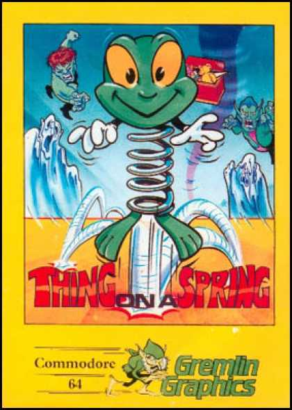 C64 Games - Thing on a Spring