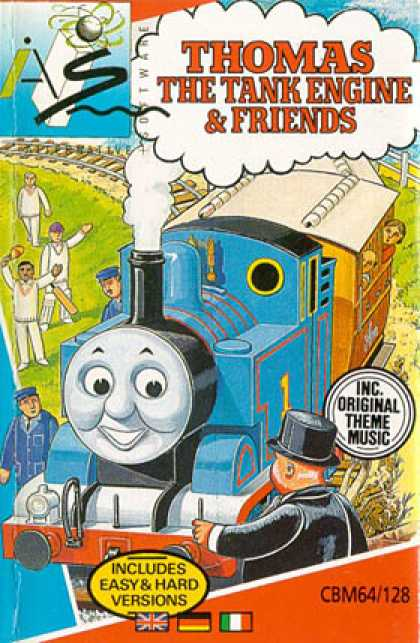C64 Games - Thomas the Tank Engine and Friends