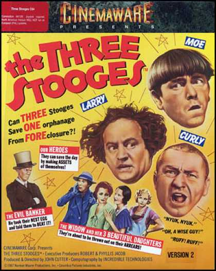 C64 Games - Three Stooges, The