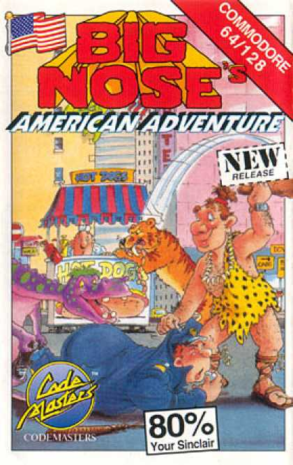 C64 Games - Big Nose American Adventure