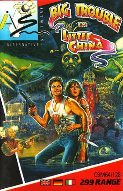 C64 Games - Big Trouble in Little China