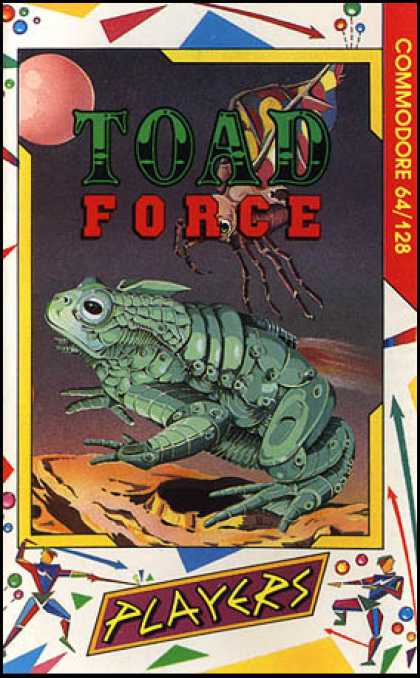 C64 Games - Toad Force