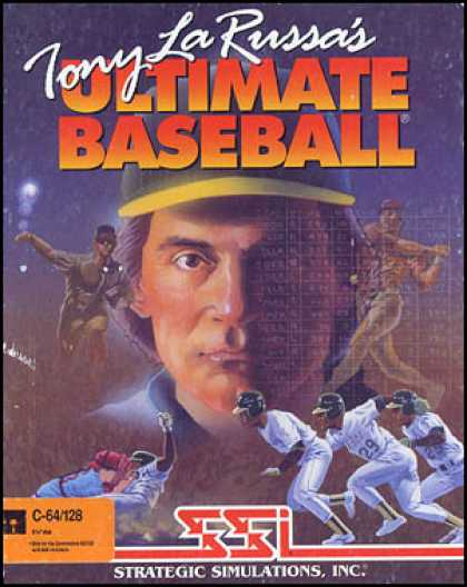 C64 Games - Tony La Russa's Ultimate Baseball