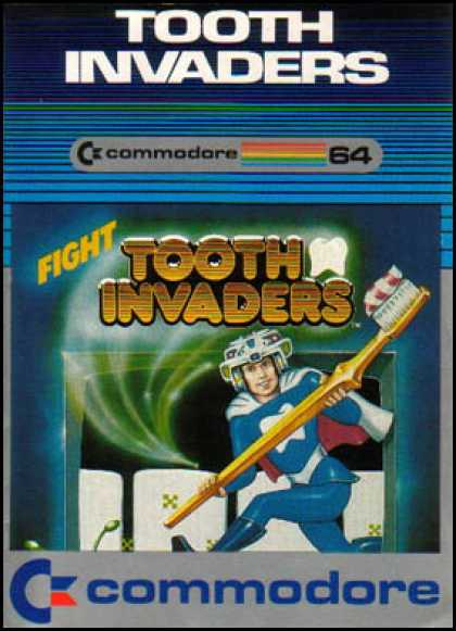 C64 Games - Tooth Invaders